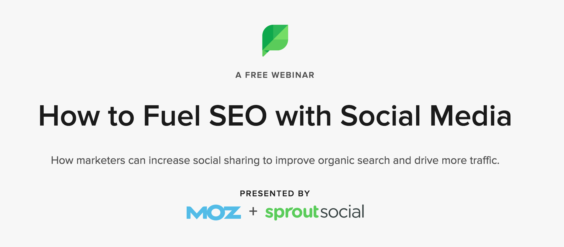 Moz and SproutSocial partnership